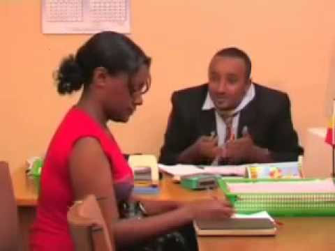 FilFilu: Meet Professor FilFilu Giving Advice on Ethiopian Economy (Ethiopian Comedy)