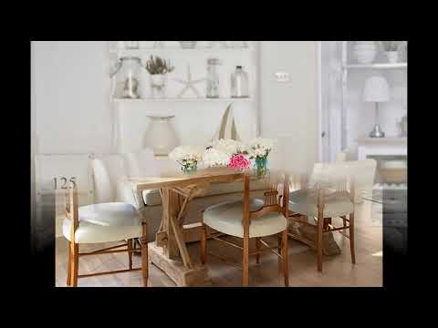 Cottage style dining room interior