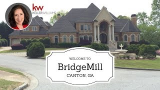 BridgeMill Homes for sale - BridgeMill Subdivision in Canton Georgia