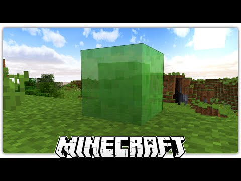 Minecraft Idiot Falls Onto Slime Blocks & screams a lot