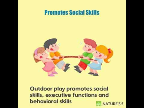 The Benefits of Outdoor Play