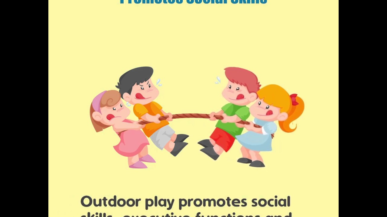essay on benefits of outdoor play Benefits of connecting children with nature: why naturalize outdoor learning   of children's play experience and contribute to their healthy development.