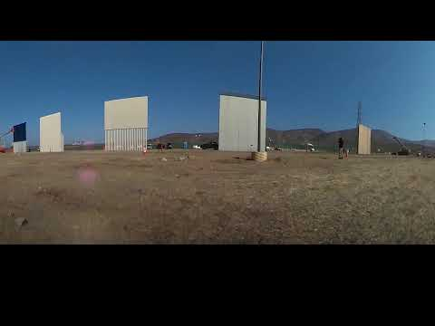 Border Wall Prototypes - South Side