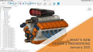 What's New In Fusion 360 Design \u0026 Engineering – January 2021