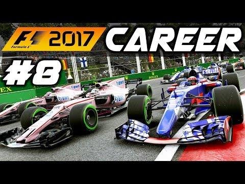 F1 2017 Career Mode Part 8: BAKU FREAK RESULTS!