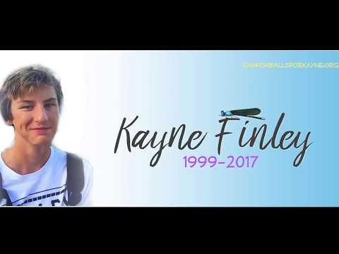 Memorial Service for Kayne Finley 11 30 17