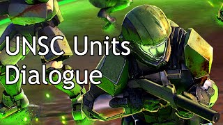 Halo Wars 2 - Random UNSC Units Dialogue
