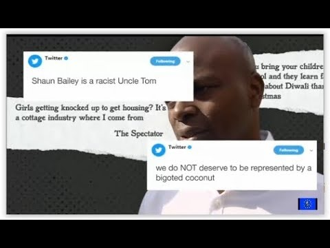 Tory minister defends Shaun Bailey's racist, sexist comments in farcical debate