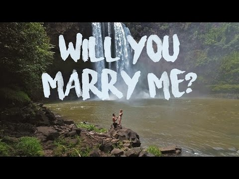 Wailua Falls 'The Perfect PROPOSAL' // HAWAII - HD