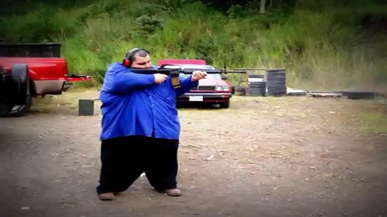 Fat Guy With A Gun 13