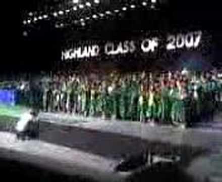 Highland High School Graduation Bakersfield Ca Class 2007 Youtube