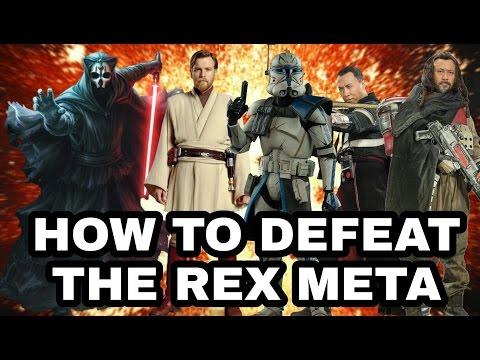 How To Defeat The Rex Meta! SWGOH