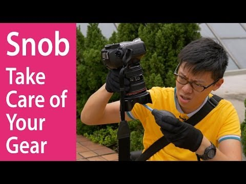 How to Take Care of Your Gear (the Photo Snob Way)