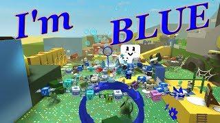 Ich bin blau - Roblox Bee Schwarm Simulator