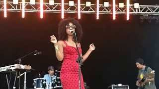 Hollie Cook performs - Ari Up live @ Glastonbury festival 2014