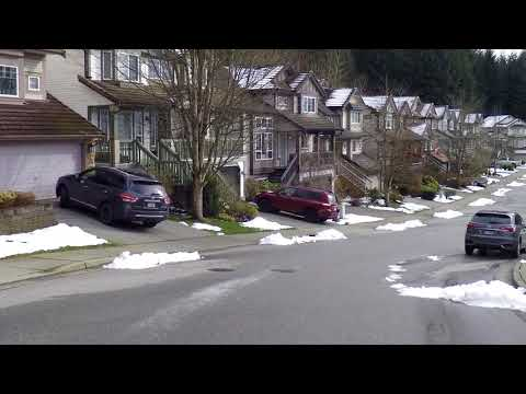 Life In COQUITLAM BC Canada - Driving Tour Around Houses/Residential Area