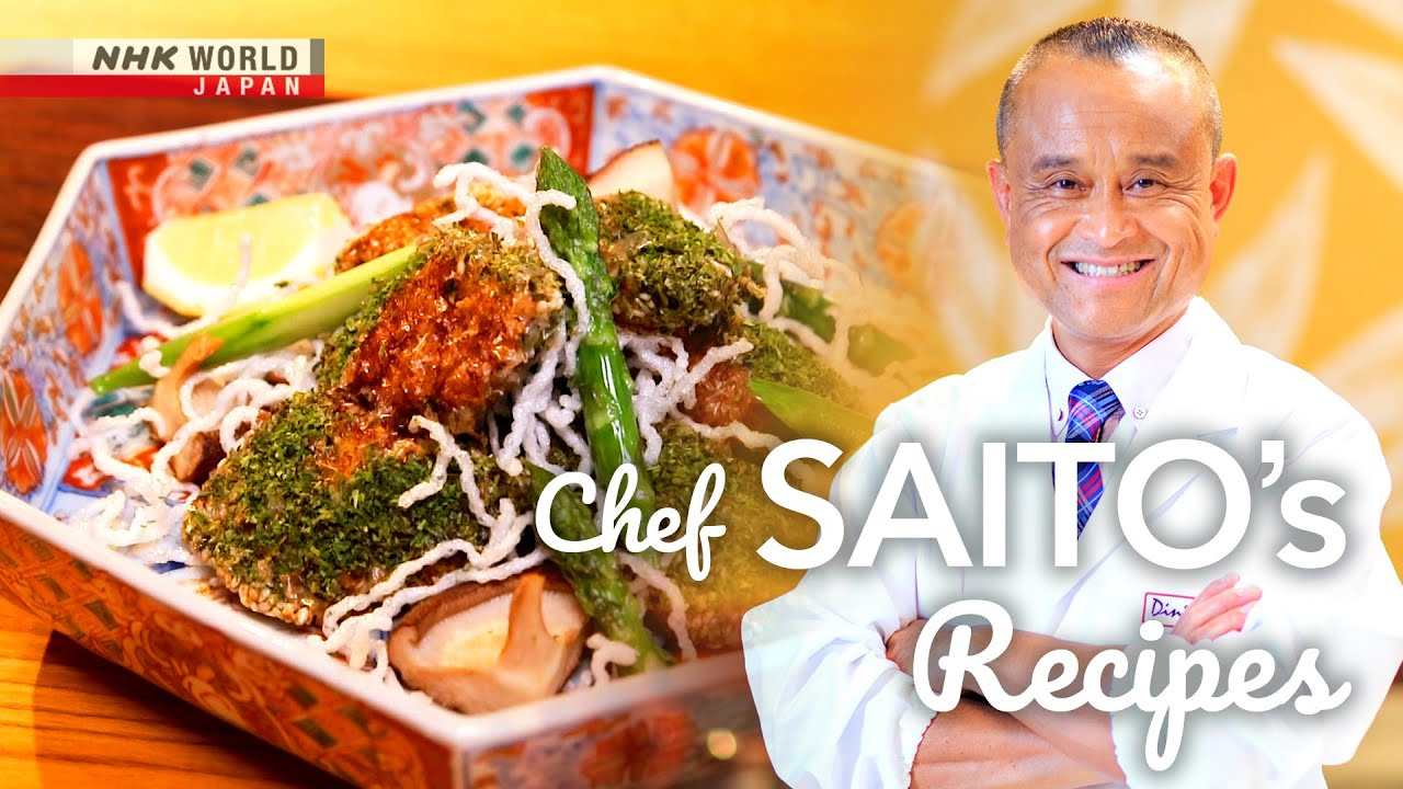 Photo of Chef Saito's Tricolored Fish Fry [Japanese Cooking] – Dining with the Chef – video