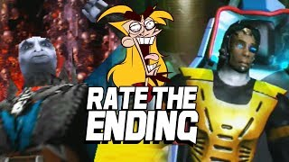 RATE THE ENDING: Mortal Kombat 4 - Hilarious Editon