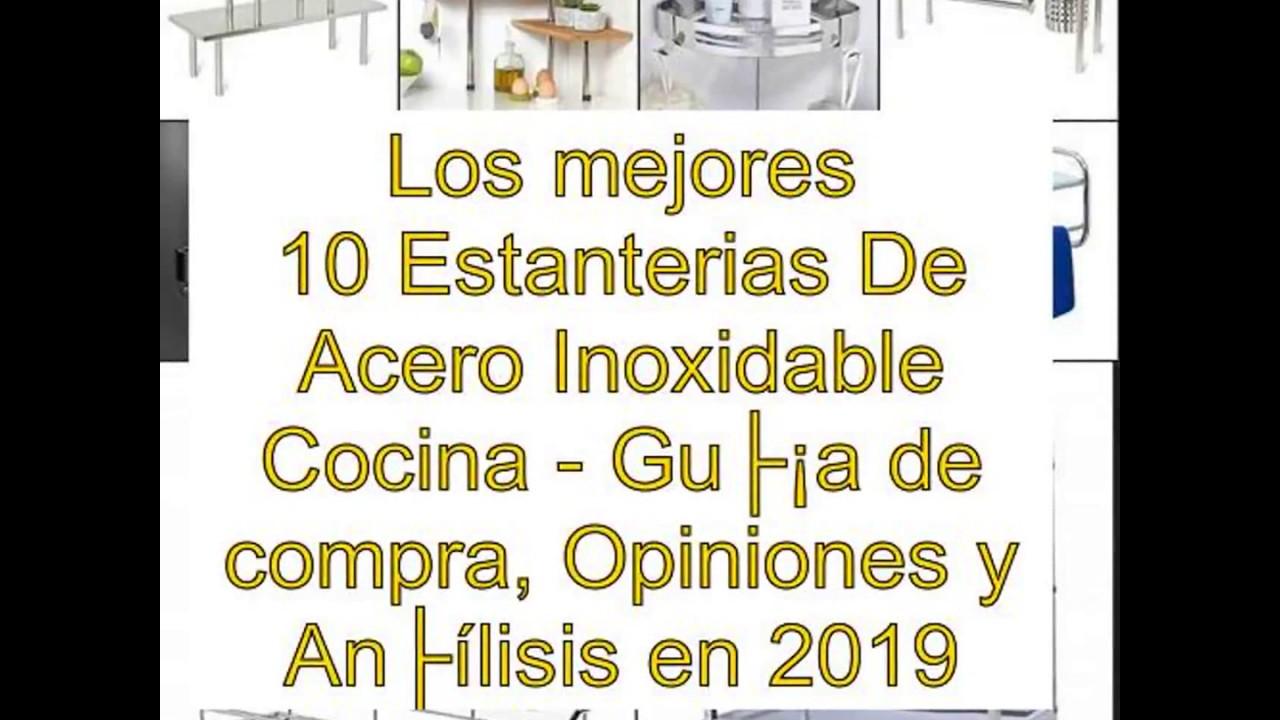 Los mejores 10 Estanterias De Acero Inoxidable Cocina - Guía de compra 796625a2bbce