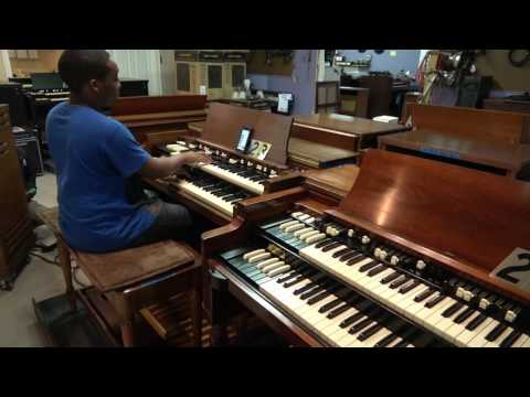 "Hammond B-3 with 122 for sale ""What a Wondeful World"" # 223 Jayden Arnold at Keyboard Exchange"