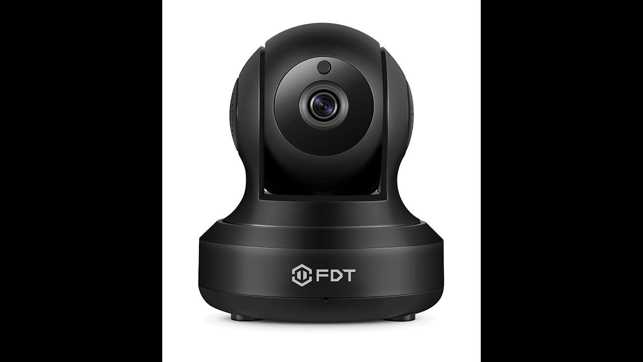 FDT 1080P HD WiFi Pan/Tilt IP Camera FD8901