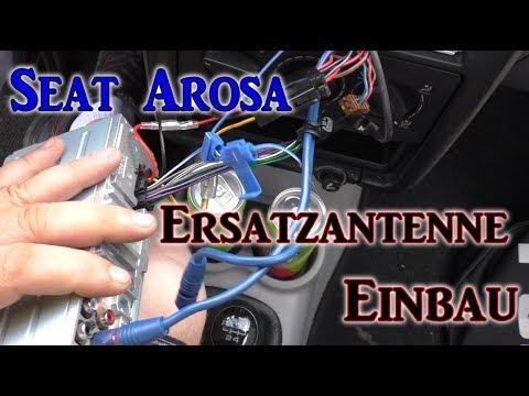 Seat Arosa Radio Ersatzantenne einbau VLOG#6 | HD+ | Deutsch
