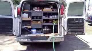 Plumber Installs Real Toilet in His Work Van  Must See!