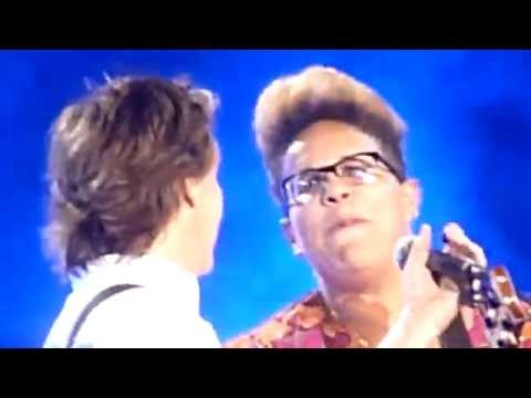 Paul McCartney Alabama Shakes Brittany Howard Get Back Live Lollapalooza July 31 2015