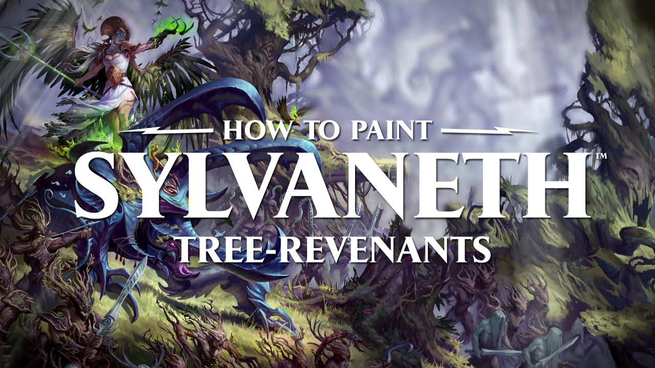 How to paint Sylvaneth: Tree-revenants