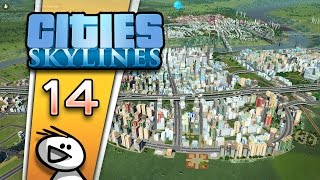 Cities: Skylines [Staffel 2] #014 - Kein Platz für Fernsehtürme - Let's Play