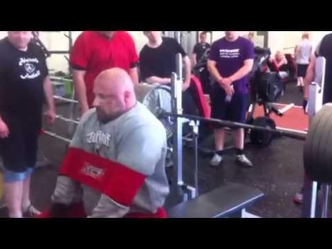 Benchpress 350kg