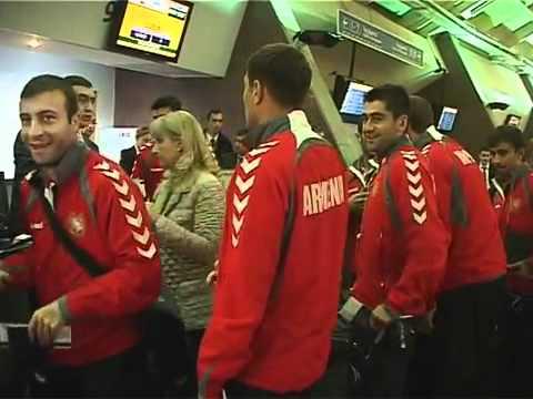 Ireland-Armenia  Azgayin Havak'akany Mekneс Dublin  EURO 2012 Qualifiers