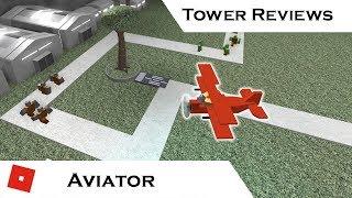 Aviator | Tower Reviews | Tower Battles [ROBLOX]