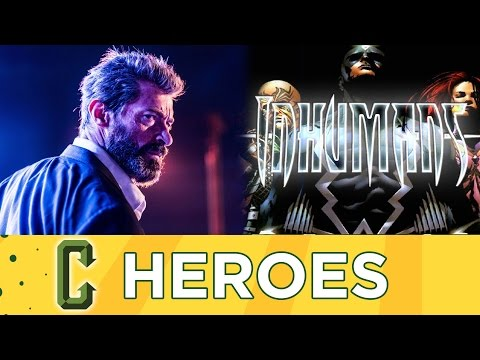 Logan R-Rated Hit, The Inhumans Series Cast - Collider Heroes