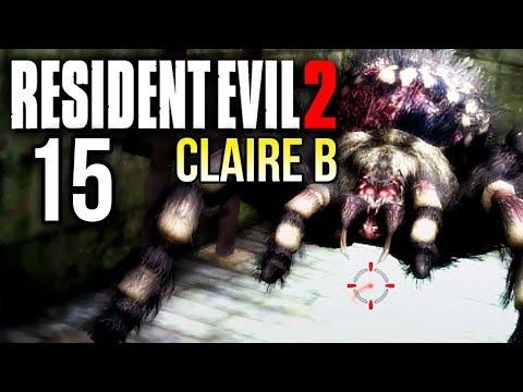 Resident Evil 2 (Claire B) [15] 🎮 Eklige Spinnen - Let's Play Resident Evil 2 Deutsch