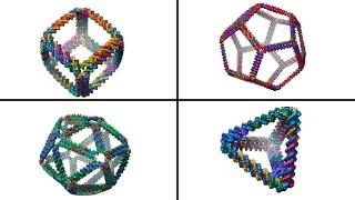 Complex 3-D DNA structures