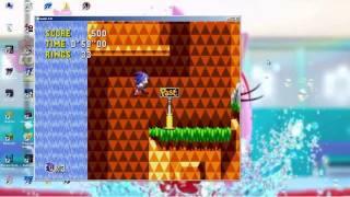 Sonic CD pc download MEGA