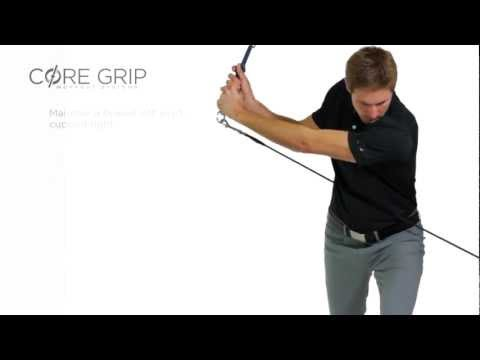 Core 12 – Narrow Lunge Stance – Core Grip Golf Lift Series (Male)