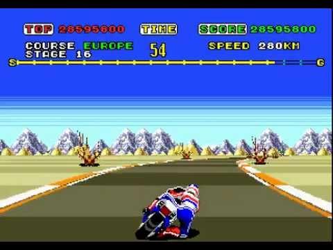 Mega Drive Longplay [164] Super Hang-On