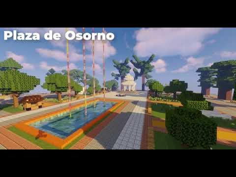 Osorno (chile) en Minecraft