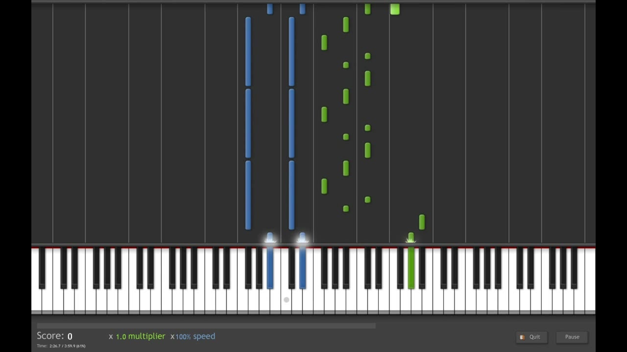 how to play one thing on piano