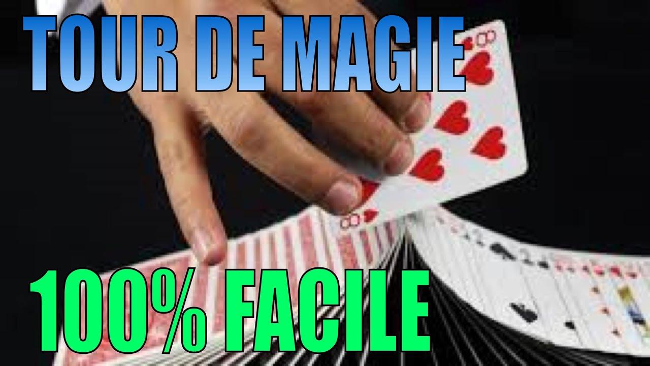 tour de magie carte retrouver une carte