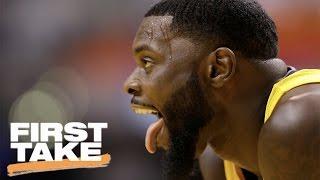 Max Kellerman Calls The Raptors 'Sore Losers' | First Take | April 5, 2017