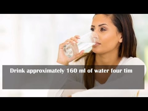 Drinking Water On An Empty Stomach Immediately After Waking Up ? | Health TOPS For A Healthy Life