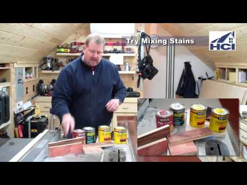 How To Stain Pine To Look Like Brazilian Cherry