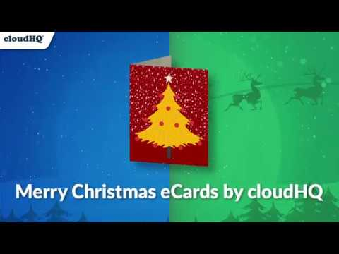Free Merry Christmas Cards By CloudHQ