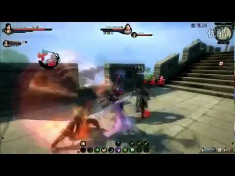 Age of Wulin Wudang Character Gameplay
