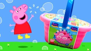 Peppa Pig Picnic Basket Playset Play Doh Dessert Diy Peppa's Picnic Set Play-doh Creations