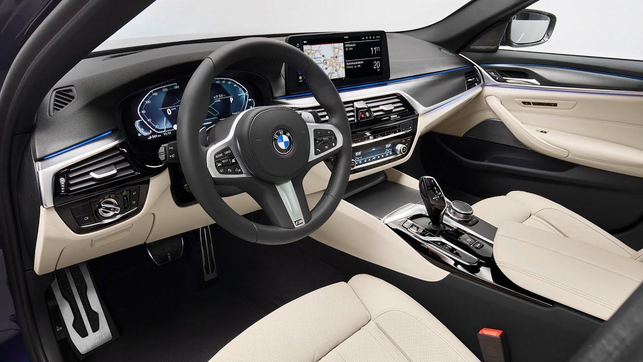 2021 BMW 550I Spy Shoot