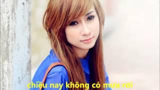 Chiều nay không có mưa bay   Thái Tuyết Trâm + MR Trung guitar